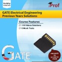 IProf GATE Electrical Engineering Previous Years Solutions SD Card (Memory Card)