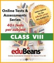 Edubeans Beans VIII Online Tests Preparation For Class 8 With Term & Unit Test (Online)