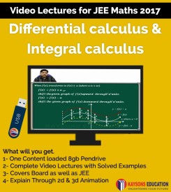 Kaysons Education Differential And Integral Calculus Video Lectures For JEE Mains And Advance 2017 By IITians With 17 Years Of Exp.