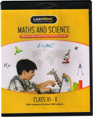 Buy LearnNext CBSE X Mathematics & Science: Educational Media