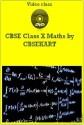 CBSEKART CBSE - Maths (Class 10) - DVD