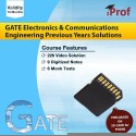 IProf GATE Electronics And Communications Engineering Previous Years Solutions SD Card (Memory Card)