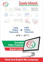 Zoomla Infotech Learn Tally Course Online Tally Online Training And CSS Video Tutorials DVD In Hindi (DVD/CD)