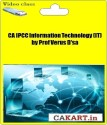 CAKART CA IPCC Information Technology (IT) By Prof Verus D'sa - Pen Drive