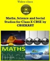 CBSEKART CBSE - Maths, Science And Social Studies For Class 10 - DVD