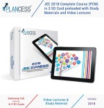 Plancess JEE 2017 Complete Course in 3 SD Card preloaded with Study Materials and Video Lectures along with free Samsung Tab