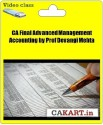 CAKART CA Final Advanced Management Accounting By Prof Devangi Mehta - Pen Drive