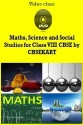 CBSEKART CBSE - Maths, Science And Social Studies For Class 8 - DVD