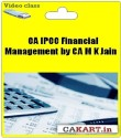 CAKART CA IPCC Financial Management By CA M K Jain - Pen Drive