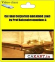CAKART CA Final Corporate And Allied Laws By Prof Balasubramaniam. G - Pen Drive