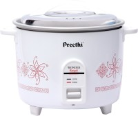 Preethi Wonder Rangoli RC 320 A18 1.8 L Electric Rice Cooker (White)