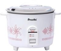 Preethi Wonder Rangoli RC 320 A18 1.8 L Electric Rice Cooker (White)