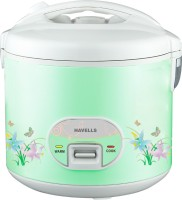 Havells Max Cook Plus 2.8 CL 2.8 L Electric Rice Cooker (Green)