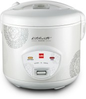 Cello Cook-N-Serve Electric Rice Cooker (1.8 L, White)