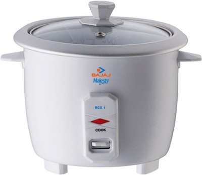Bajaj RCX1 0.4 L Rice Cooker White