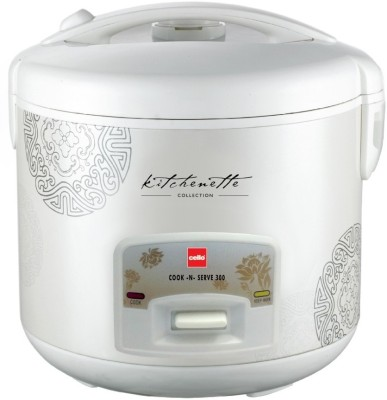 Cello Cook-N-Serve 300 2.2 Litre Rice Cooker