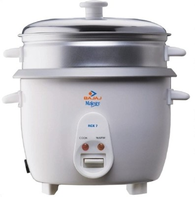 Bajaj Majesty RCX 7 1.8 L Food Steamer at Extra 35% Off - Rs 1699
