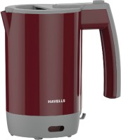 Havells Travel Lite 0.5 Electric Kettle (Maroon)