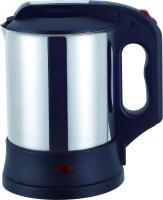 Deseo MX-10A 1 L Electric Kettle (Black & Silver)