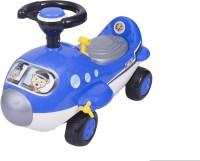 Ez' Playmates Mini Cartoon Plane Ride On Blue Car (Blue)