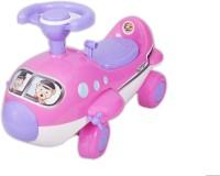 Ez' Playmates Mini Cartoon Plane Ride On Pink Car (Pink)