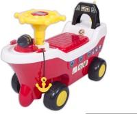 Ez' Playmates Pirate Ship Fun Ride On Car (Red)
