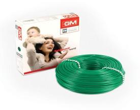 GM FR PVC 4 sq/mm Green 90 m Wire