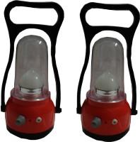 Vimarsh Rechargeable Led Light (Set Of 2) Emergency Lights (Red, Black)