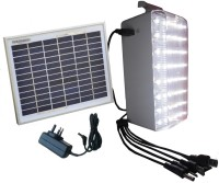 TechnologyUncorked Solar Mobile Charger With LED Emergency Lights (White)