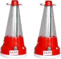Sahi Rechargeable LED Cone With Charger -set Of 2 Emergency Lights (Red)