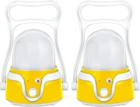 Sahi Rechargeable LED Active (yellow) With Charger -(set Of 2) Emergency Lights (Yellow)