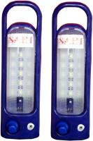 Sahi Rechargeable Nova(blue) With Charger - Set Of 2 Emergency Lights (Blue)