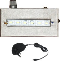Urjja 6 Smd With Charger Emergency Lights (Silver)