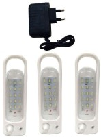 Grind Sapphire Gs-55 Charger With -3set Emergency Lights (White)