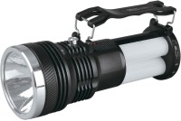 JW Solar LED Rechargeable Torch + Lamp / Flood Light / Flash Light / 2 In1 Emergency Lights (MultiColours)