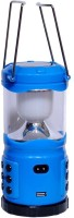 Homes Decor Rechargeable Solar Lantern (Large) With Usb Port As Power Bank Emergency Lights (Blue)