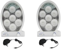 Kaka Ji 7 Led With Charger Emergency Lights (White)