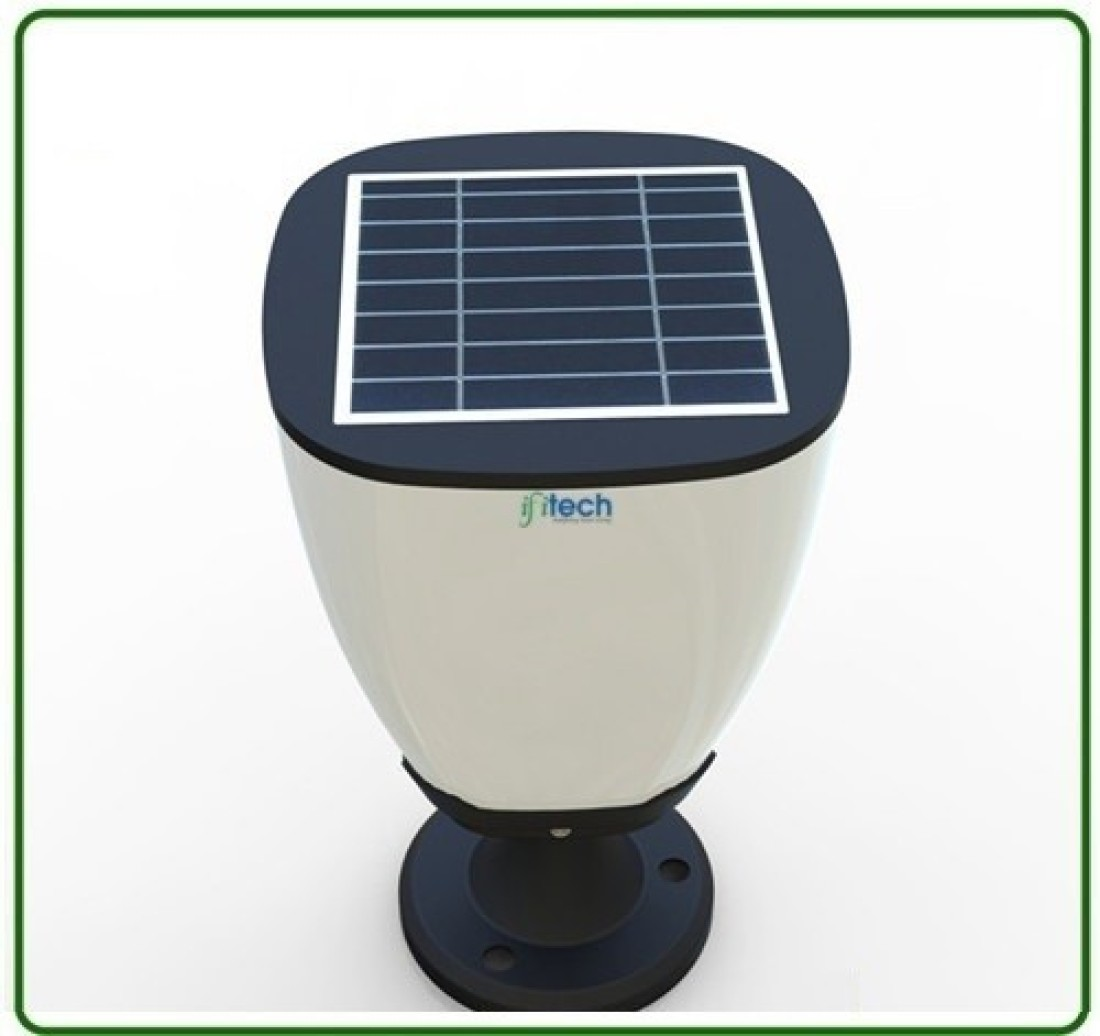 ifitech solar pillar designer light solar lights price in india buy