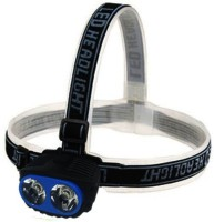 GVC High Brightness Lumens Head Lamp Torches (Metallic Blue)