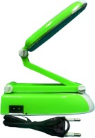 Shop Street Rechargeable Folding Table Lamp Led Emergency Lights (Green)