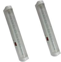 Vimarsh Rechargeable LED (18 Bulbs) - Set Of 2 Emergency Lights (White)