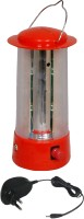 Urjja 9 Led Cylinderical With Charger Emergency Lights (Red)