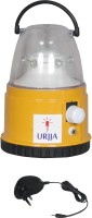 Urjja 6 Led Small Lantern With Charger Emergency Lights (Yellow)