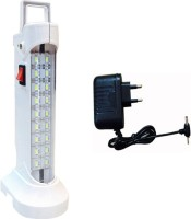 Black Cat Charger With 10W Emergency Lights (white)