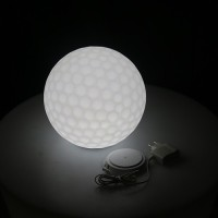 Smart And Green Golf Ball Decorative Lights (White, Multicolor)