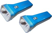 Tuscan Set Of 2Pcs Royale Rechargeable LED Torches (Blue)