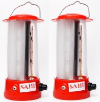 Sahi Rechargeable 09 LED (Red) With Charger-Set Of 2 Emergency Lights (Red)