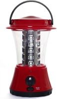 Saihan Rechargeable 36 SMD LED Lantern With Overcharge Protection Solar Lights (Red, Black)