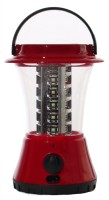 Saihan 4V 1600mAh 360 Degree Rechargeable 36 SMD LED Lantern With Overcharge Protection Solar Lights (Red, Black)