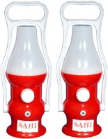 Sahi Rechargeable LED Minar With Charger -set Of 2 Emergency Lights (Red)